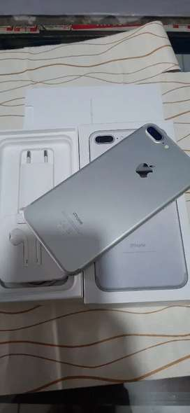 jual iphone 7+ 128 ibox mulus bisa tt hub/wa