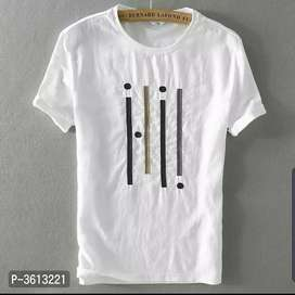 Brand new Cotton Round Neck Printed Half Sleeve T-Shirt