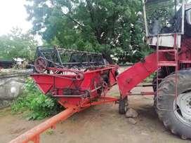 4 wheel Drive combine harvester