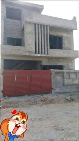 5marla structure in New city phase 2 wah cantt