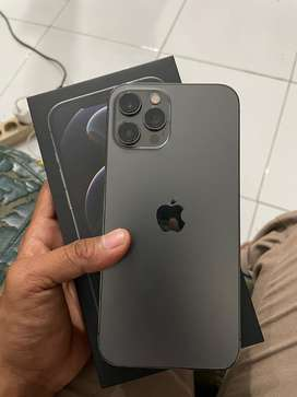 Iphone 12 pro max 128 GB ibox garansi on