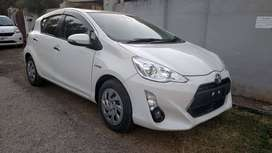 Toyota aqua available on easy installment on 6.5%markup offer