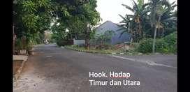 Kapling Hook. Lokasi terdepan Limus Pratama. Dekat masjid.