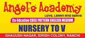 Want a female  experienced teacher to handle nursury and LkG student'd