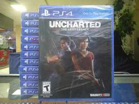 Hot Sale Kaset Game Bd Ps4 Uncharted The Lost Legacy