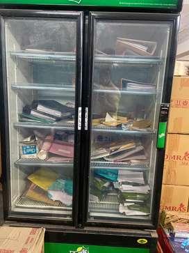 Double door fridge new condition