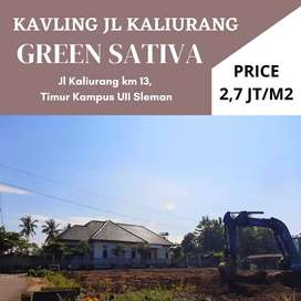 Berhadiah TV; Tanah Cluster Jalan Kaliurang Km 13 Cocok Untuk Kost