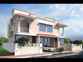 Luxuroius Row house is available for sale in Undri