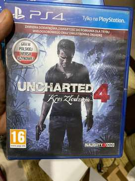 Uncharted 4 PS4 game playstation