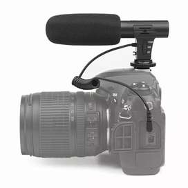 Shotgun microphone mikrofolone untuk dslr