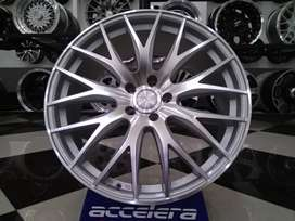 velg mobil teana camry ring 20 silver color