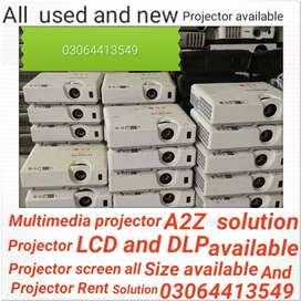 Multimedia projector LCD and DLP For sale