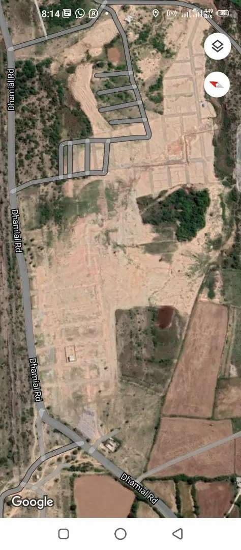 5 Marla Residential plot for sale dhamyal Road 0