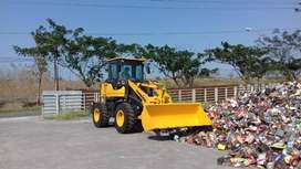 Wheel Loader 0,8 & 1,1 m3 Murah, Yunnei Engine Turbo, Brand Sonking