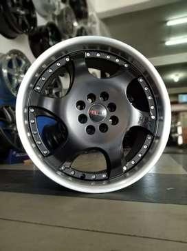 Jual velg racing HSR Ring 17 Buat mobil Jaaz, avanza, (bisa credit)