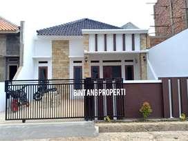 Rumah siap huni tanah luas