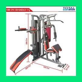 home gym 3 sisi TL-HG077 alat fitnes D-654