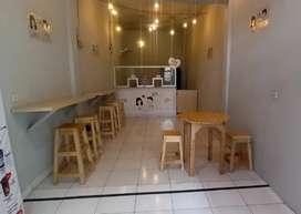 Meja Dan Kursi Cafe Borongan