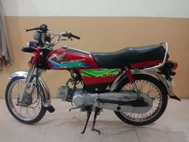 Honda Moter cycle CD 70cc 2018 model