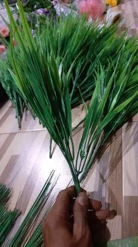 Rumput Hias Plastik/Tanaman Hias Artificial/Bunga Mini/Bunga Plastik/