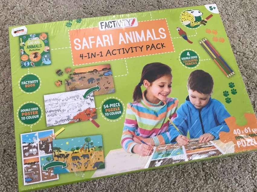 Activity book Safari Animal