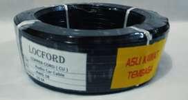 Kabel Speaker 18 AWG LOCFORD - Asli Tembaga 50 Meter