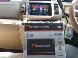 HU android nakamichi 7inc RAM 2GB (UDIN AUDIO)