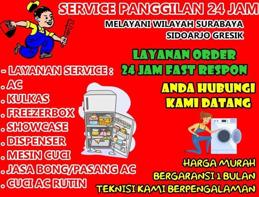 Jasa Cuci Service Ac Dispenser/Freezerbox Area Jl Sumberan Surabaya 0