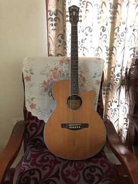 Ibanez electro aquostice guitar. Rarely used