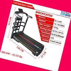 jual treadmill elektrik 4 fungsi TL-615 G-656 tredmill salatiga