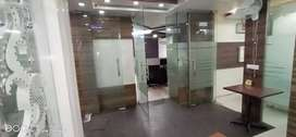 One cabin one conference 20 Workstations office in Vasundhara.