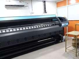 High speed Cloth  and flex  printer banner flex . fabric