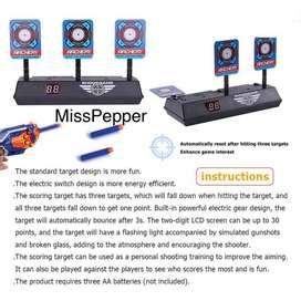 Electric Score Target skor elektrik otomatis untuk nerf blaster dll