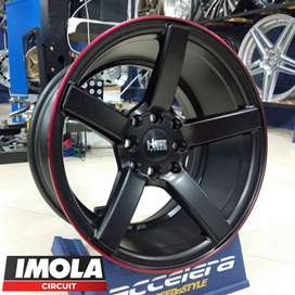 Pelek Racing Ring 15 Lebar 78 Pcd 4x100 & 4x114,3 Mobil Familia Jazz
