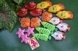 mainan ikan plastik (ikan ikanan )