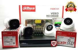 CCTV DAHUA 4 KAMERA 2.0MP GARANSI 1 TAHUN ORIGINAL