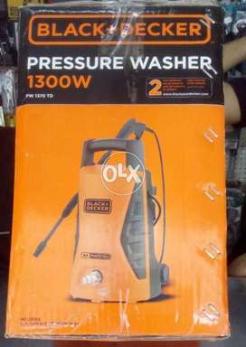 Black and Decker pressure washer PW 1370TD 1300w box pack brand new