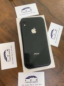 I phone xr 64gb black clr