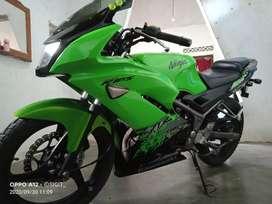 Ninja RR 2013, plat BE tulang bawang
