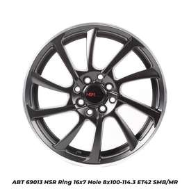 READY STOCK VELG MOBIL RACING ABT 69013 HSR R16X7 H8X100-114,3 ET42