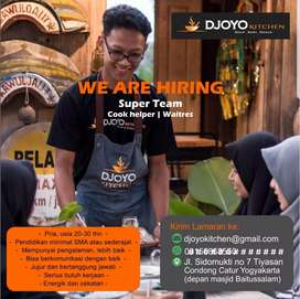 Lowker waiter dan cook
