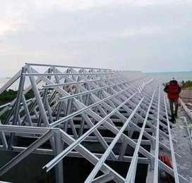 Pelayanan penyelesaian atap baja ringan ANTI KARAT