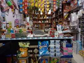 Provision store on rent