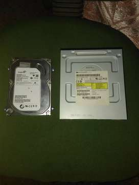 Computer hard disk and DVD
