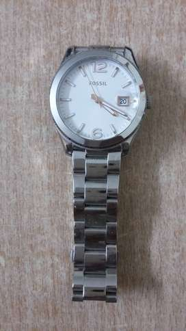 Women's Fossil watch with box