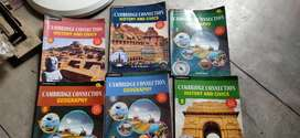 ICSE history, civics and geography books class 6-8