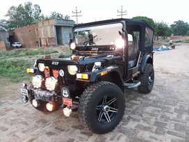 Hunter modified open Willys jeeps