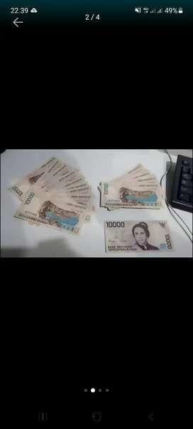 Uang Kuno 10000 th 1998