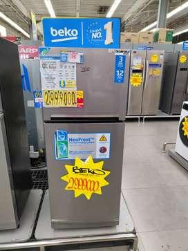 Kulkas Beko 2 pintu Bisa cicilan tanpa kartu kredit