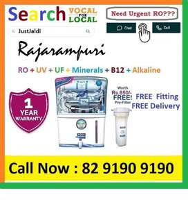 Rajarampuri AquaGrand RO Water Purifier Water Filter AC dth bed car TV